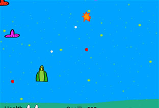 Simple Space Game