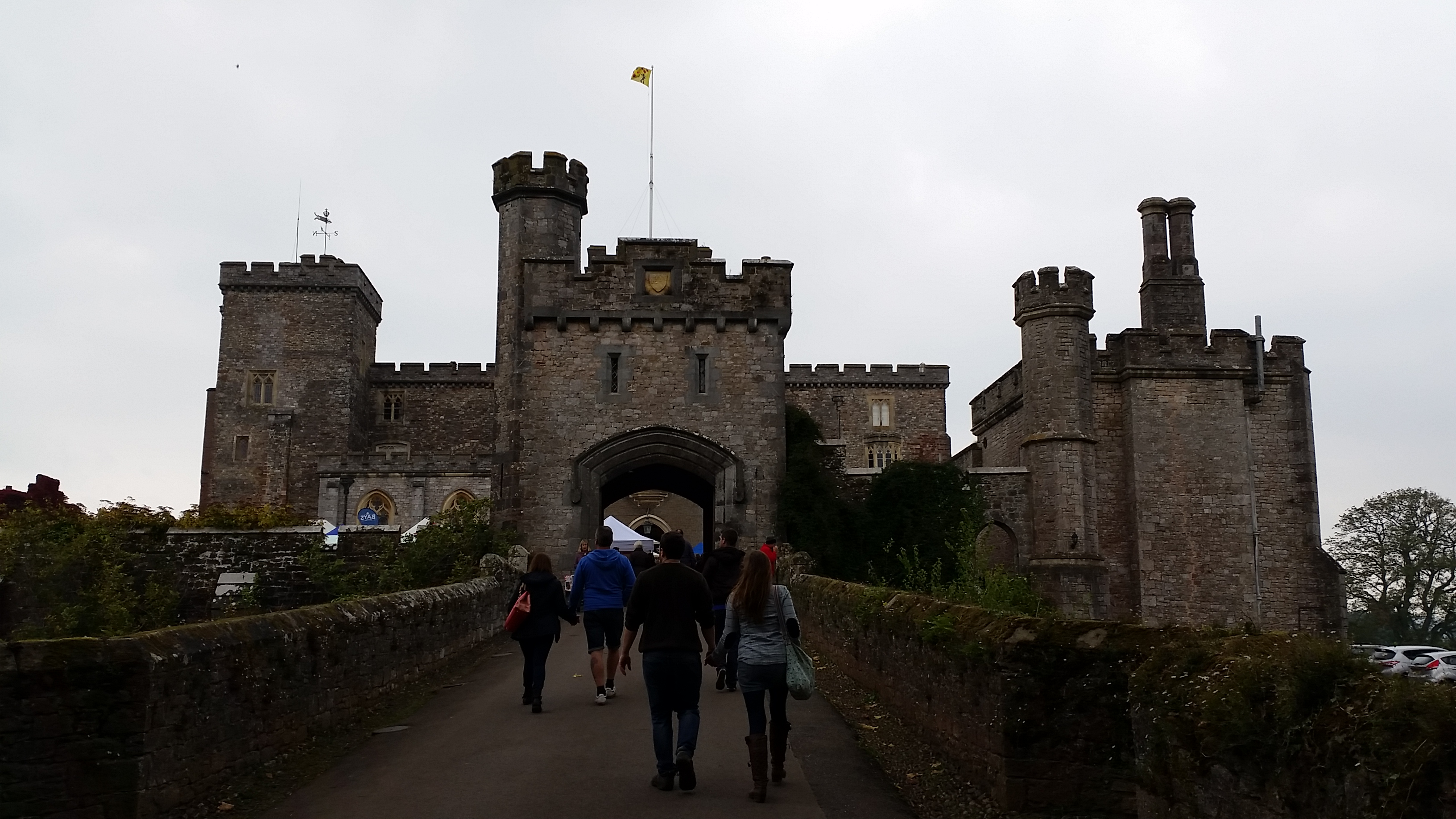 Food Festival at a Castle!