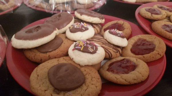 Cookies, Cookies, and more Cookies.